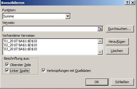 Excel - Datenverwaltung und -bearbeitung - Mehrere Arbeitsblätter ...
