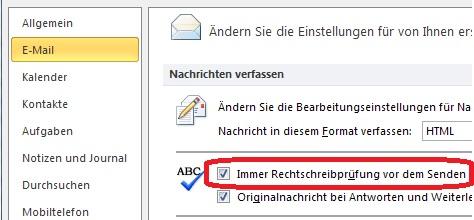 E Mail Rechtschreibung